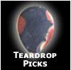 Teardrop Picks